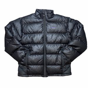Black Patagonia Zip Up Puffer Jacket Size Mens Medium for Sale in Stockton, CA
