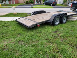 2016 Trailer whit ramp. 18x7 for Sale in Fort Lauderdale, FL