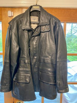 Winlit Soft leather jacket sz L for Sale in Gaithersburg, MD