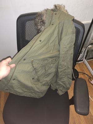 GAP 3-n-1 Parka Jacket/Coat with fur and inside detachable Vest(cheetah print) for Sale in The Bronx, NY