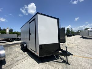 Enclosed Cargo Trailer 7x16 Tandem Axle for Sale in Fort Lauderdale, FL