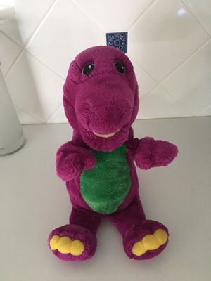 12 inch Barney hand puppet for Sale in Warminster, PA
