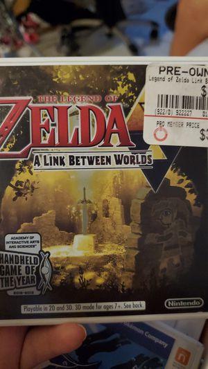 Zelda for 3ds for Sale in Laveen Village, AZ