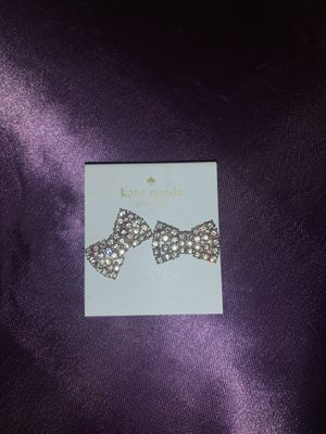 Kate Spade Bow earrings for Sale in Shingle Springs, CA