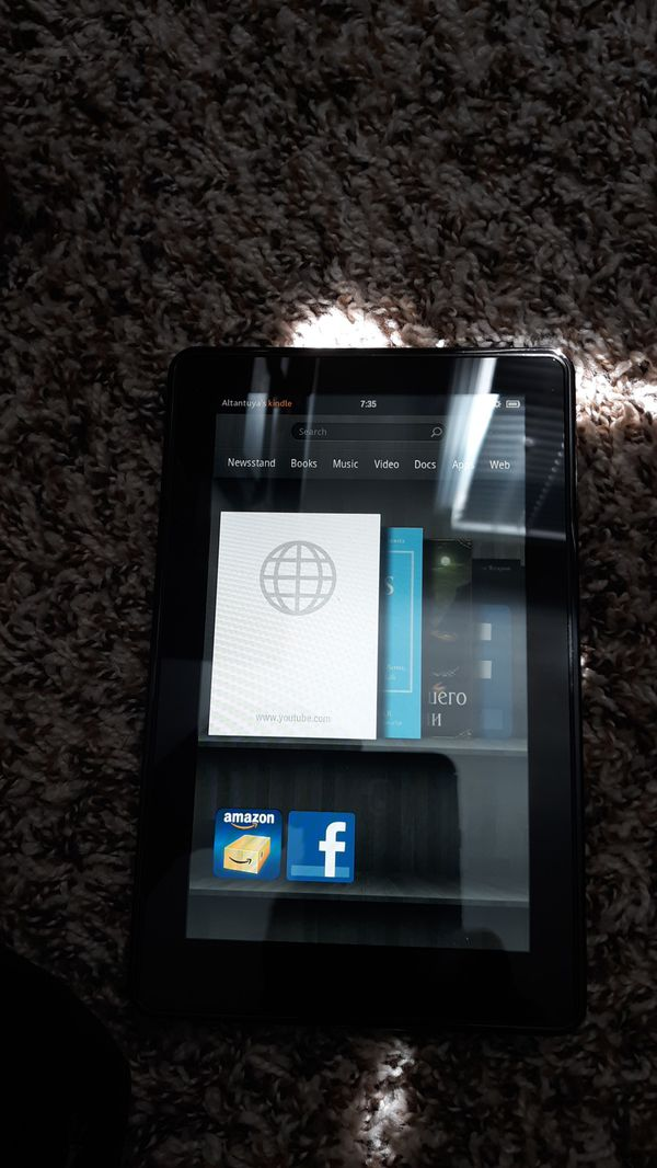 Kindle fire from amazon