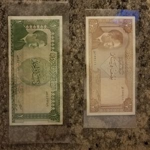BANKNOTES FROM THE MIDDLE EAST JORDAN for Sale in Elmwood Park, IL