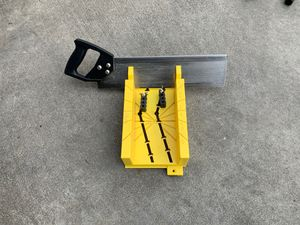 14.5 in. Deluxe Clamping Miter Box with 14 in. Saw for Sale in Long Beach, CA