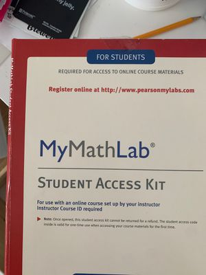 My math lab code for Sale in Malden, MA