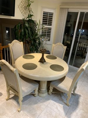 Dining Table Set with 4 Chairs for Sale in Salida, CA