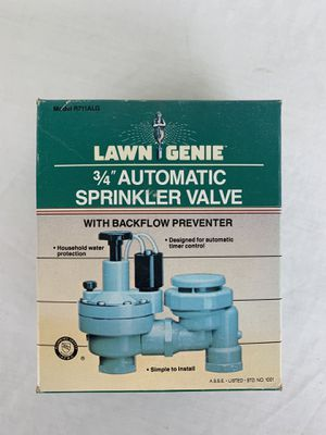 "Lawn Genie 3/4"" lawn sprinkler valve, model R711ALG, new never used for Sale in Carlsbad, CA"