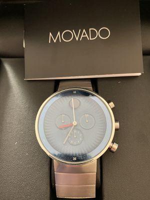 Movado men's watch excellent shape msrp $995 for Sale in Montoursville, PA