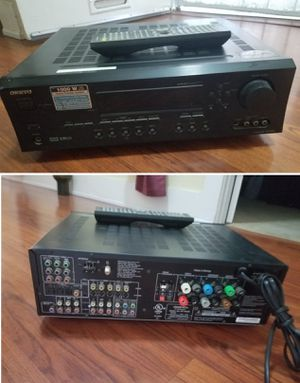 Onkyo 1000w 8.1ch stereo receiver amplifier Bluetooth optional for Sale in Long Beach, CA