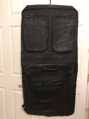 Claire Chase Classic Garment Bag 100 % genuine Leather for Sale in Las Vegas, NV