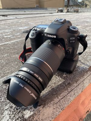 Canon 80d with 75-300mm lens for Sale in Long Beach, CA