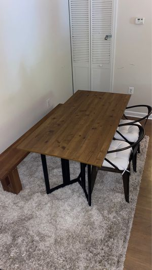 Wooden dining/ kitchen table for Sale in Annapolis, MD