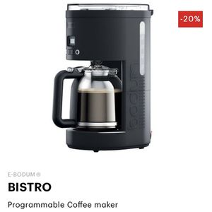 Bodum Programmable Coffee Maker for Sale in Washington, DC