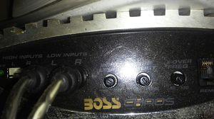 Boss 1200 watt amp chaos for Sale in Deer Park, TX