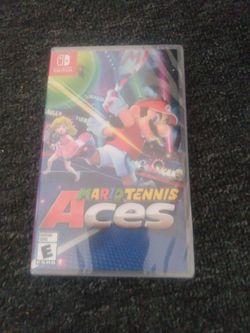 Mario Tennis Aces Nintendo Switch NEW Sealed for Sale in Staunton,  VA