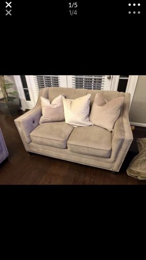 Tan couch set for Sale in Rockville, MD
