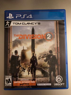 New division 2 ps4 game for Sale in Fontana, CA