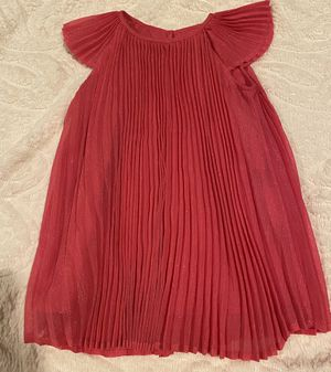 Hot pink H&M Pleated Lined Dress Size 1 1/2 -2 yr for Sale in Lake Elsinore, CA
