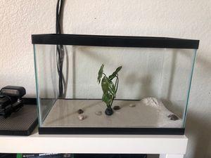 Aquarium fish tank setup for Sale in Rialto, CA