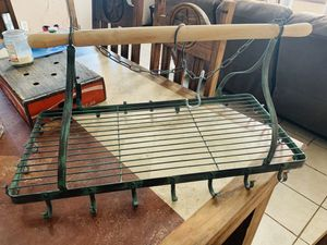 Hanging pot rack for Sale in Springtown, TX
