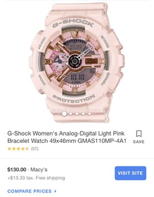 Light pink G-shock for Sale in Los Angeles, CA