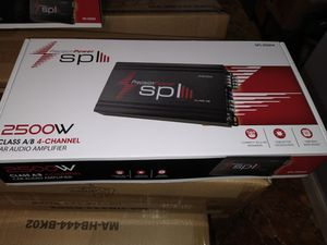 SPL 2500 watts amplifier for Sale in Philadelphia, PA