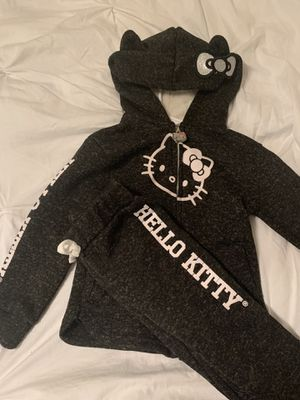 Hello kitty jogger set pants and hoodie size 4T for Sale in Tacoma, WA