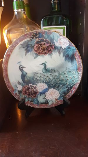 Signed peacock China for Sale in Euless, TX