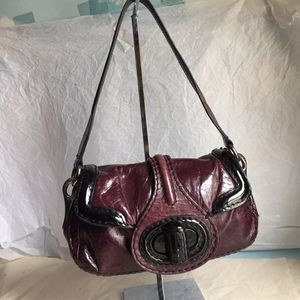 PRADA PURPLE LEATHER SHOULDER BAG for Sale in New York, NY