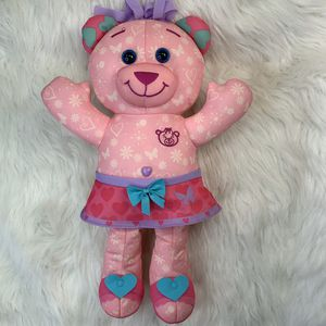 "Doodle bear Pink Plush Teddy Bear 17"" - No Markers for Sale in Centerton, AR"