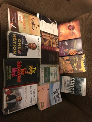 Used Books $30 for all of them - 13 in total for Sale in Virginia Beach, VA