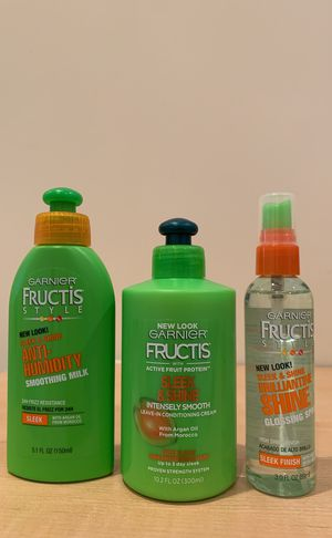 Garnier Fructis Sleek & Shine hair treatments for Sale in Alexandria, VA