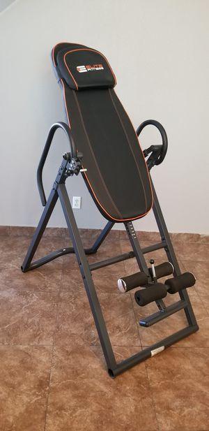Elite fitness inversion table for Sale in Las Vegas, NV
