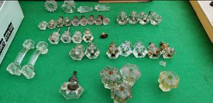 Antique Glass / Crystal Drawer Knobs / Door Knobs for Sale in Lorain, OH