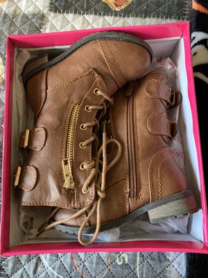 Toddler girl boots size 7 (toddler) great condition! for Sale in Merced, CA