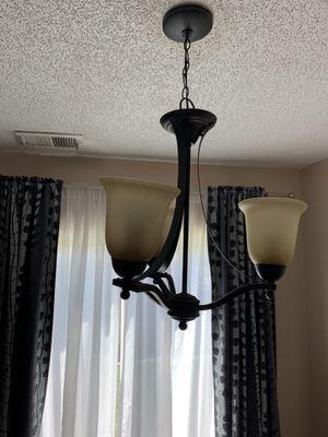 3-light bronze chandelier for Sale in Thornton, CO