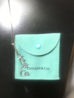Tiffany Sterling Silver Necklace for Sale in Rancho Cucamonga, CA