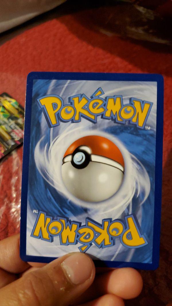 Rare Pokémon cards rainbow rare