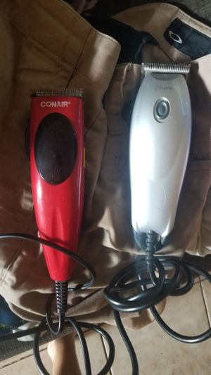 two hair trimmers or clippers. have some attachments for Sale in TEMPLE TERR, FL