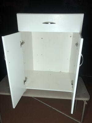 White cabinet for Sale in Las Vegas, NV