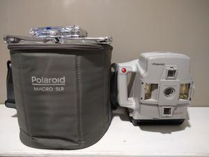 Polaroid Macro 5 SLR Closeup Spectra System Instant Camera W/ 3 Extra Film Packs for Sale in Prospect, CT