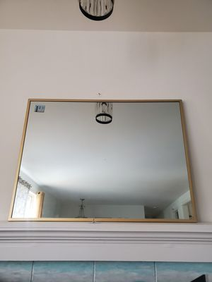 Large Gold Framed Mirror for Sale in Bellevue, WA
