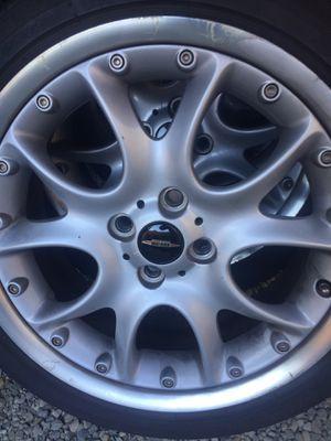 Full set of Mini Cooper JCW wheels for Sale in Sammamish, WA