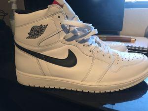 Jordan 1 white ying/yang size 13 for Sale in Phoenix, AZ