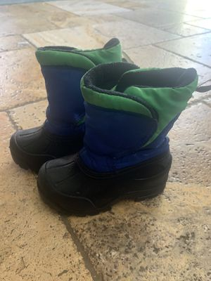 Northside toddler winter rain snow boots size 8 for Sale in San Diego, CA