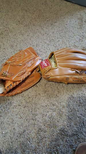 Rawlings Brand leather baseball gloves for Sale in Goodlettsville, TN