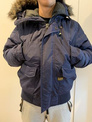 G-star Raw Winter Coat Blue Men's Size M for Sale for sale  New York, NY
